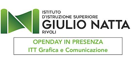 OpenDay IN PRESENZA - ITT Grafica e Comunicazione biglietti