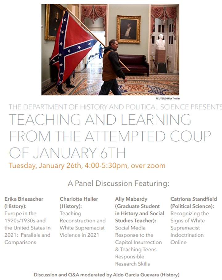 Teaching and Learning from the Attempted Coup of January 6th image