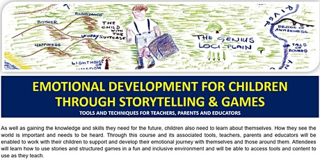 Emotional Development for Children Through Storytelling & Games tickets
