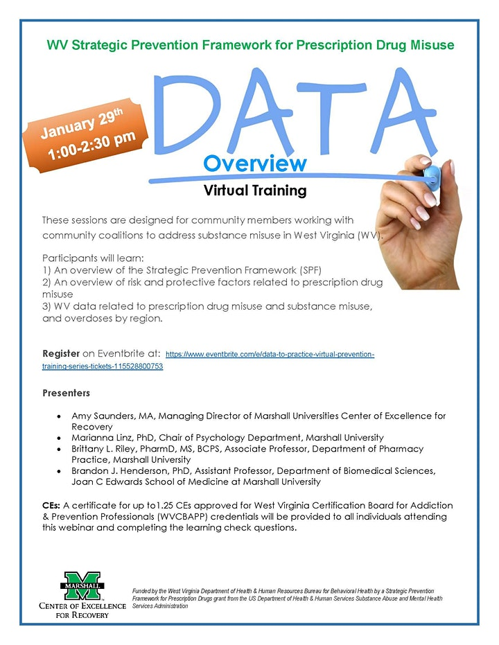 Data to Practice: Virtual Prevention Training Series image