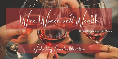 Virtual Wine, Women, and Wealth tickets