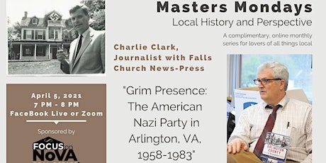 Masters Mondays: Charlie Clark, Journalist Falls Church News-Press tickets