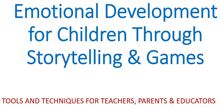Emotional Development for Children Through Storytelling & Games image