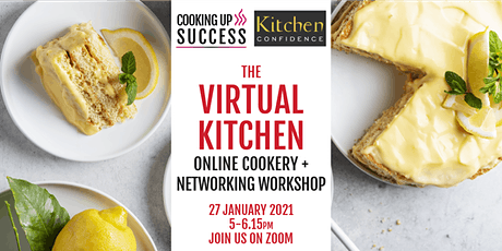 The Virtual Kitchen: Veganuary tickets