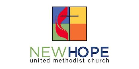 New Hope United Methodist Church Sunday Worship tickets