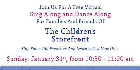 Virtual Sing Along & Dance Along Concert tickets