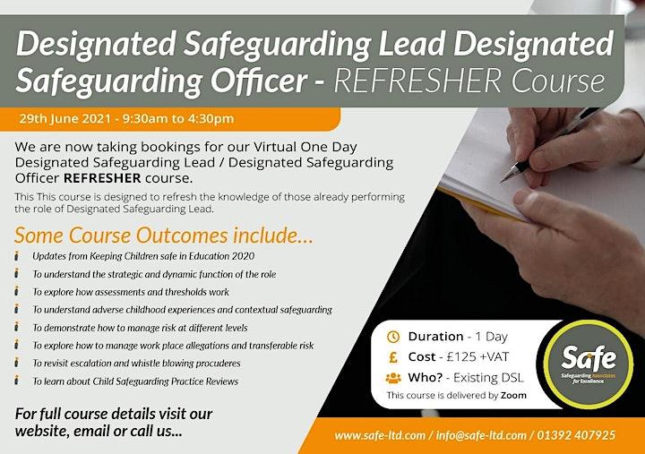 Designated Safeguarding Lead - REFRESHER image