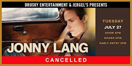 CANCELED - Jonny Lang tickets