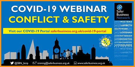COVID-19 - Conflict and Safety Webinar tickets