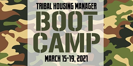 Virtual Training: NLC's Tribal Housing Manager Boot Camp tickets