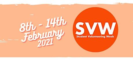 Student Volunteers Week Volunteering Drop-in Event tickets