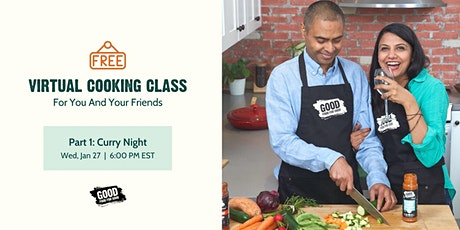 Free Cooking Class | Part 1: Curry Night tickets