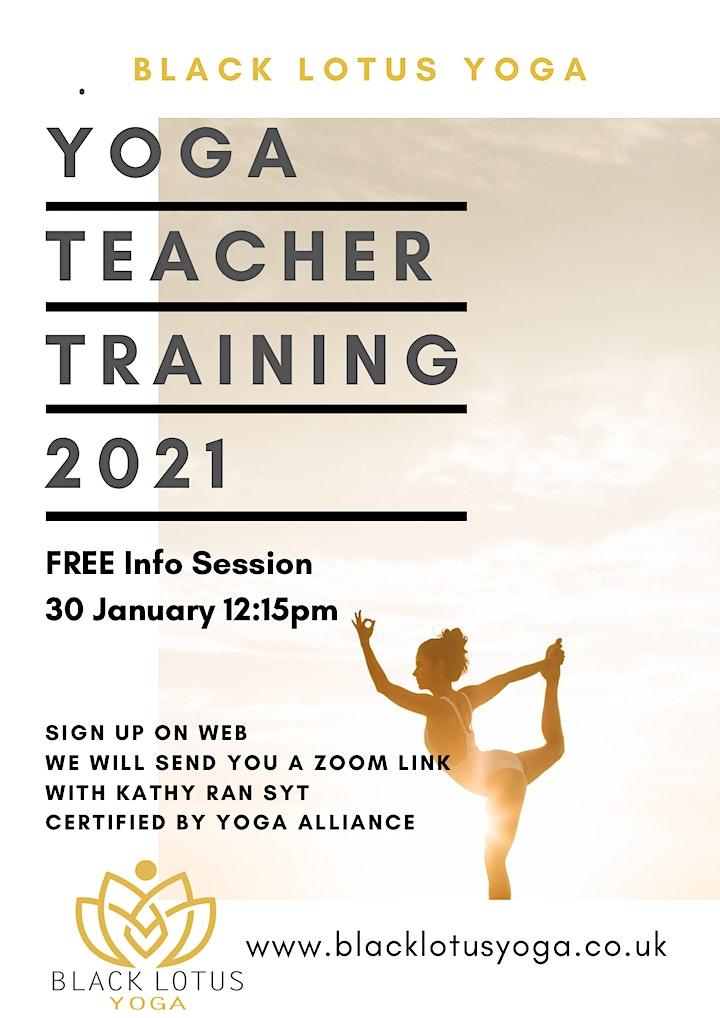 FREE Info Session Yoga Teacher Training image