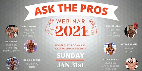 Ask The Pros 2021 - Webinar tickets