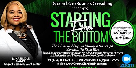 Ground Zero Business Workshop tickets