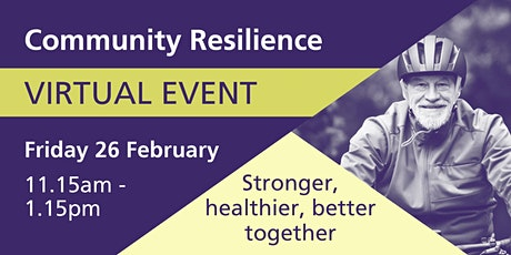 WY&H Health and Care Partnership - Community Resilience VIRTUAL EVENT tickets