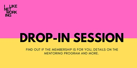DROP-IN SESSION tickets