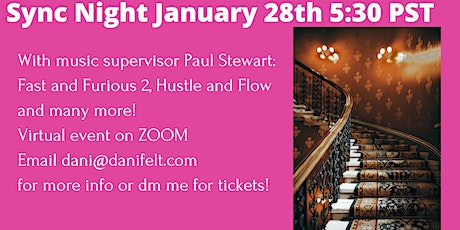 Sync Night with Paul Stewart tickets