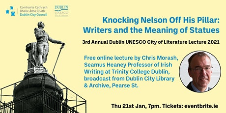 Knocking Nelson Off His Pillar: Writers and the Meaning of Statues tickets