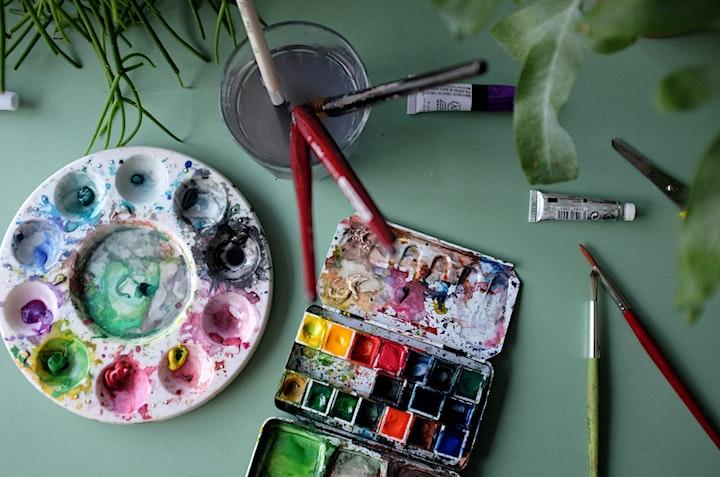 Watercolour Butterflies  (Online class) image