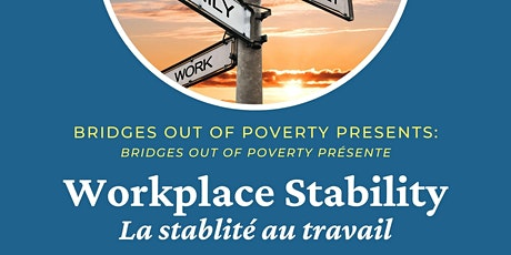 Bridges Out of Poverty - Workplace Stability tickets
