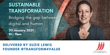 Sustainable Transformation - bridging the gap between digital and human tickets