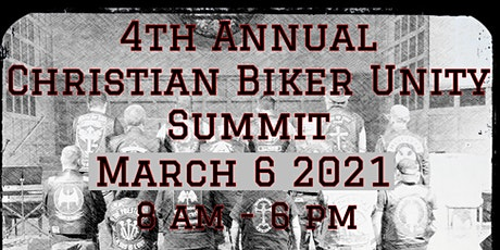 Christian Biker Unity Summit 2021 tickets