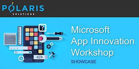 Microsoft App Innovation Workshop Showcase tickets