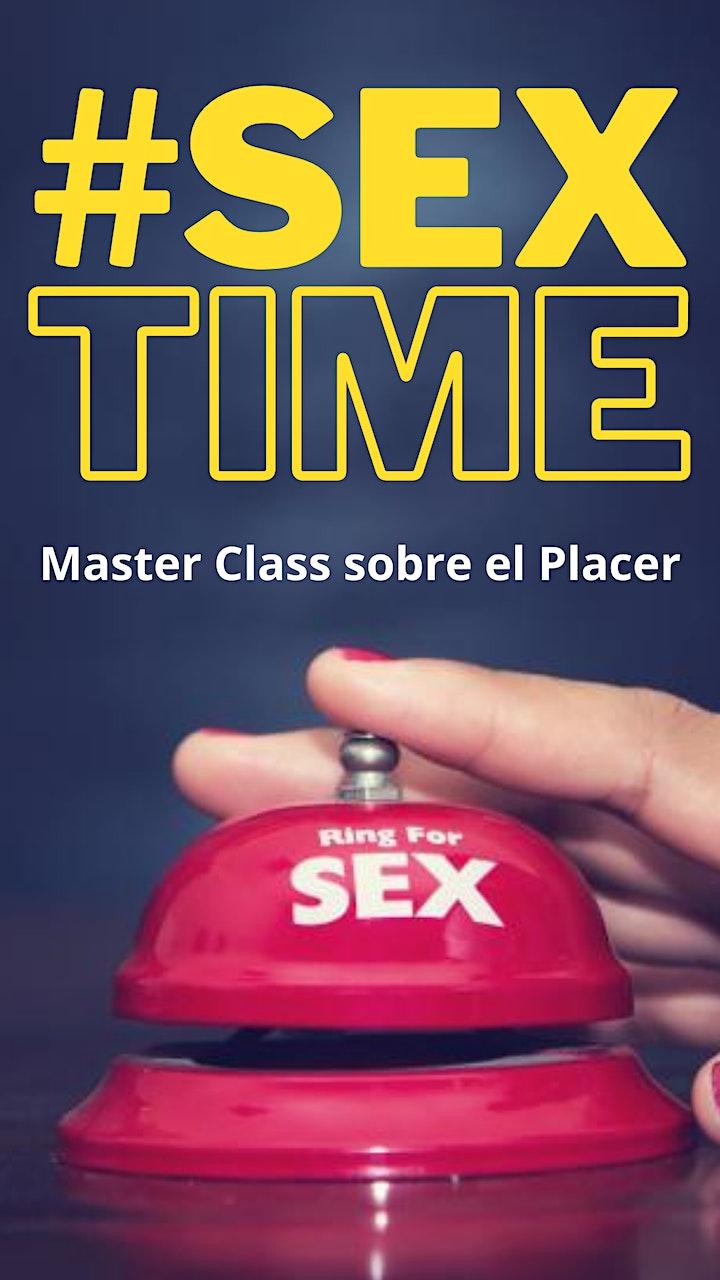 Imagen de Sex Time: Master Class sobre el Placer