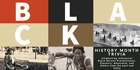Black History Trivia with BikeMN tickets