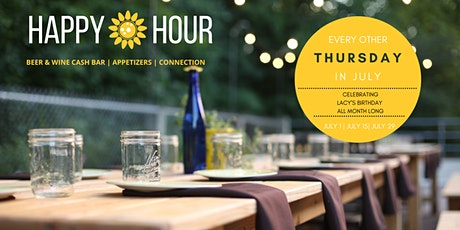 Sunflower Spa Happy Hour- July 29 tickets