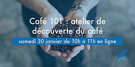 Café 101: atelier de découverte du café billets