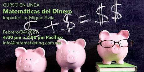 CURSO EN LÍNEA: Matemáticas del Dinero entradas