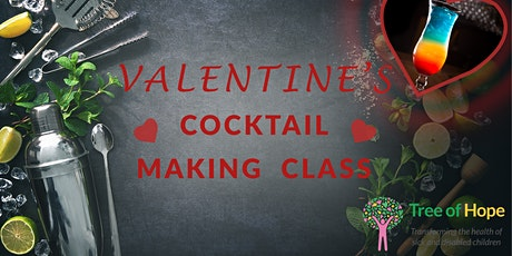 Valentines Fundraising Event - Cocktail Making Masterclass tickets