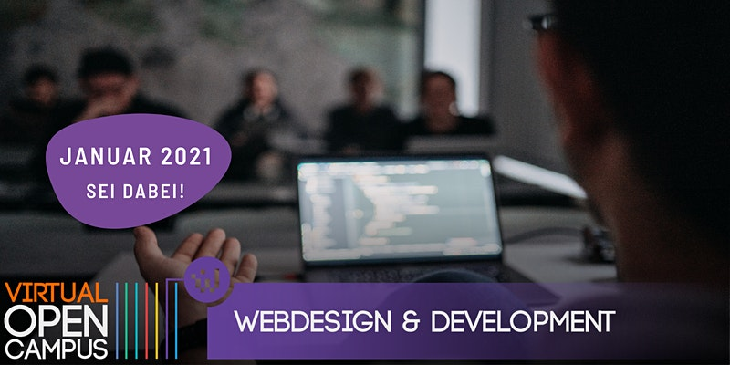 OPEN CAMPUS #Coding - Webdesign & Development 2021