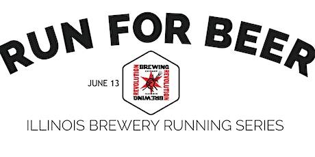Beer Run - Revolution Brewing - 2021 IL Brewery Running Series tickets
