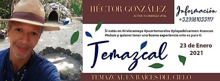Imagen de Temazcal con Héctor González