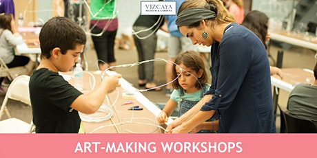 Spectral Vizcaya: drop-in art-making tickets