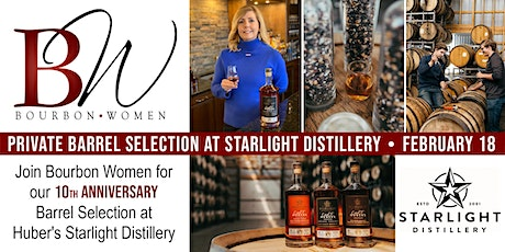 Bourbon Women Private Barrel Selection at Starlight Distillery - Indiana tickets