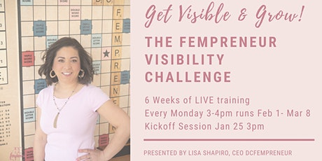 LIVE Q&A Visibility Challenge Info Session tickets