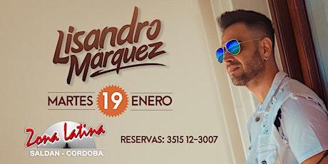 LISANDRO MARQUEZ - SHOW ACÚSTICO entradas