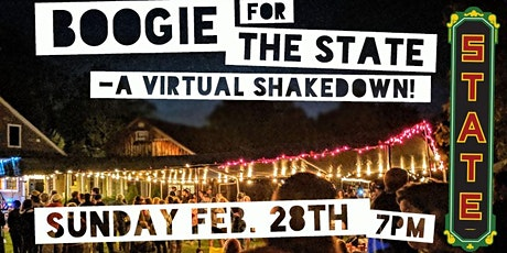 BOOGIE for the State – A Virtual Shakedown tickets