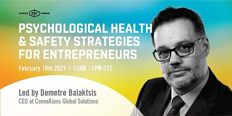 Psychological Safety & Health Strategies for Entrepreneurs tickets