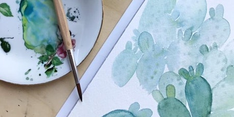 Watercolour Wednesday #1 with Oh Pretty Paper tickets