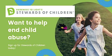 Virtual Stewards of Children tickets