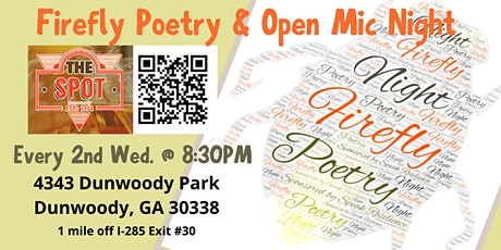 Firefly Poetry & Open Mic Night tickets
