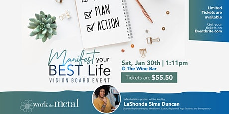 Manifest your BEST Life tickets