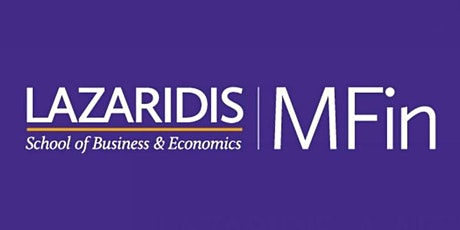 Wilfrid Laurier University - Lazaridis MFin - Online Information Session tickets