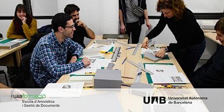 Sessió informativa online: Màster  en Arxivística i Gestió de Documents UAB tickets