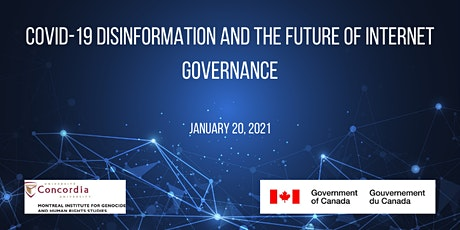COVID-19 Disinfo and the Future of  Internet Governance tickets